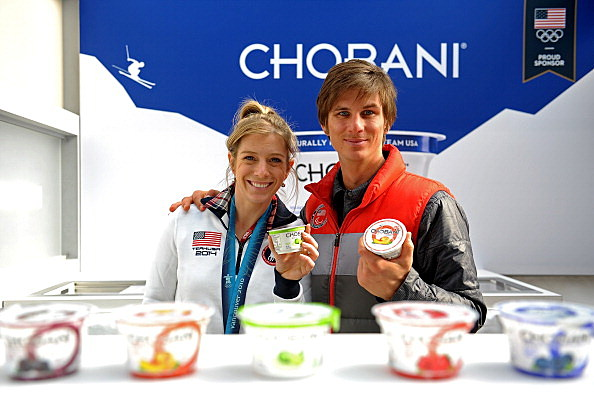 Chobani At The 2014 Olympic 100 Day Countdown