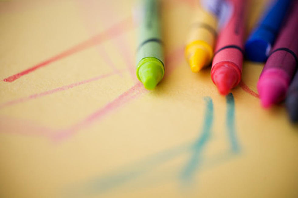 what happens to crayons left behind at restaurants